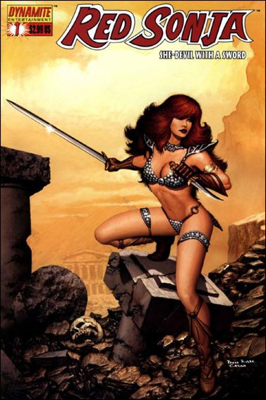 Red Sonja (2005) 1-E by Dynamite Entertainment
