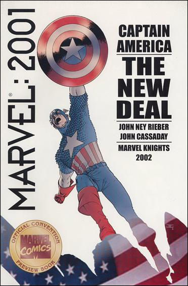 Marvel Comics: 2001 1-A by Marvel