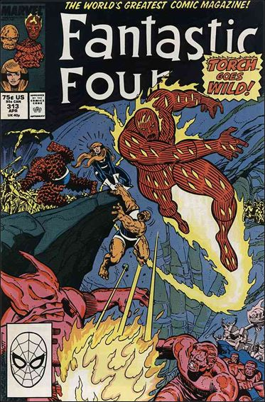Fantastic Four (1961) 313-A by Marvel