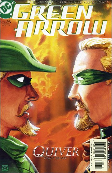 Green Arrow (2001) 8-A by DC