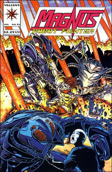 Magnus Robot Fighter (1991) 32-A by Valiant