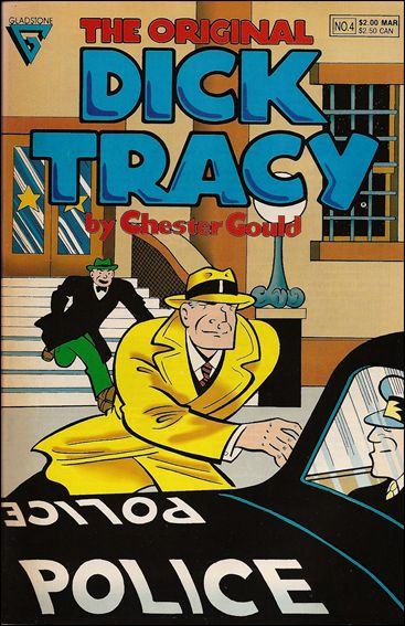 Original Dick Tracy 4-A by Gladstone