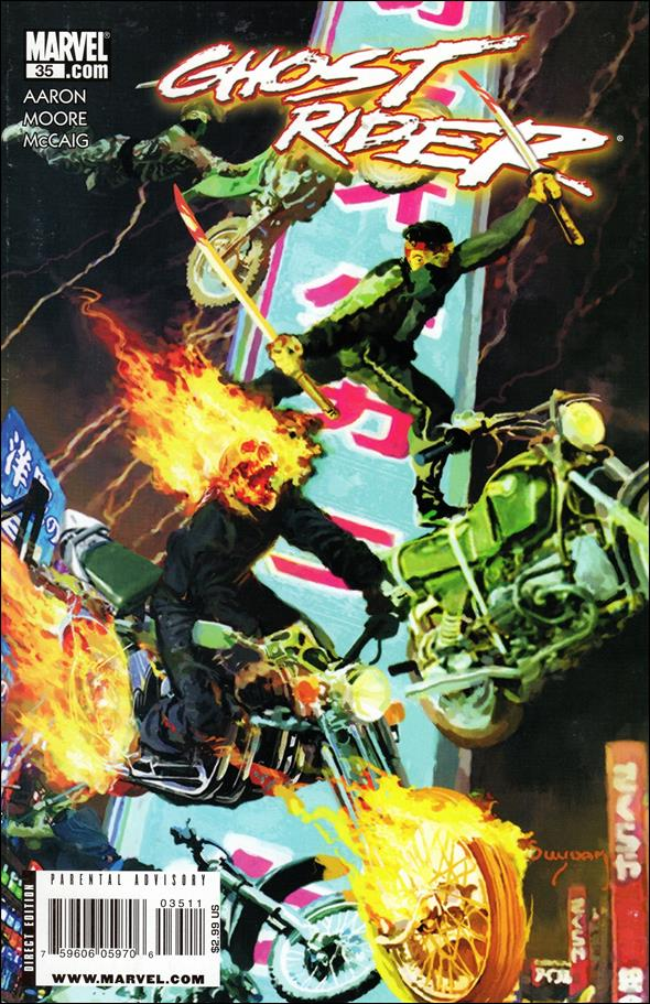 Ghost Rider (2006) 35-A by Marvel