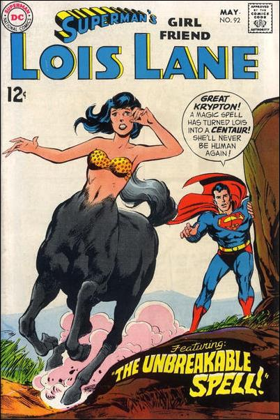 Superman's Girl Friend Lois Lane 92-A by DC