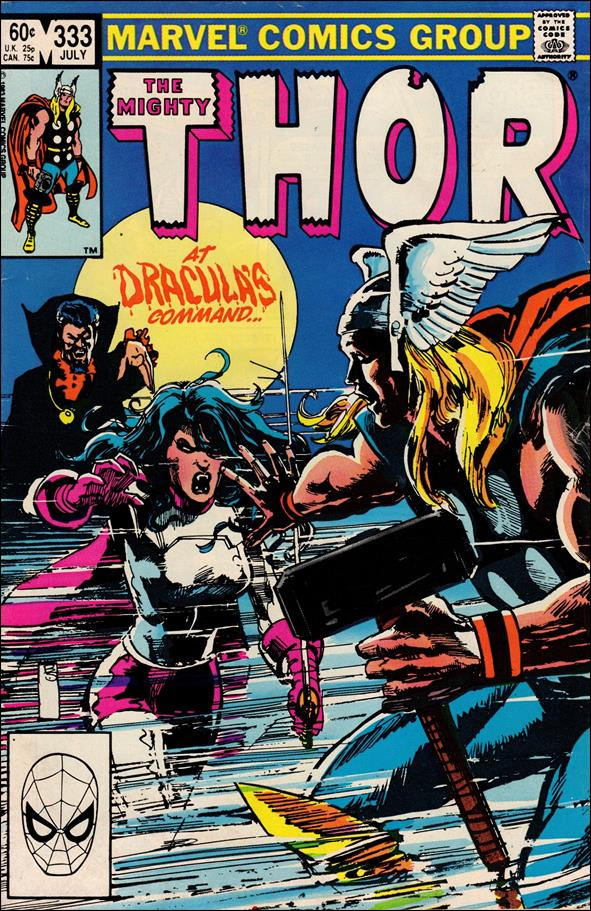 Thor (1966) 333-A by Marvel