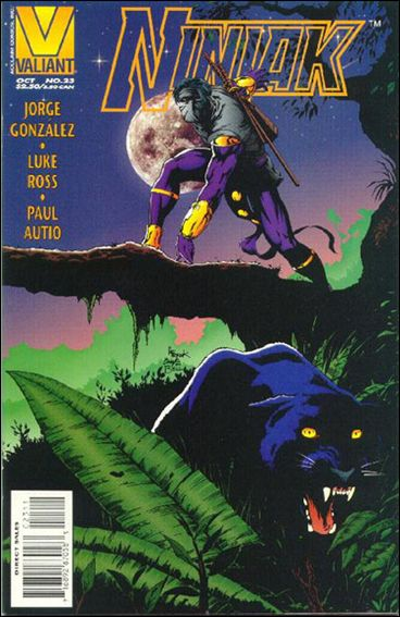 Ninjak (1994) 23-A by Valiant