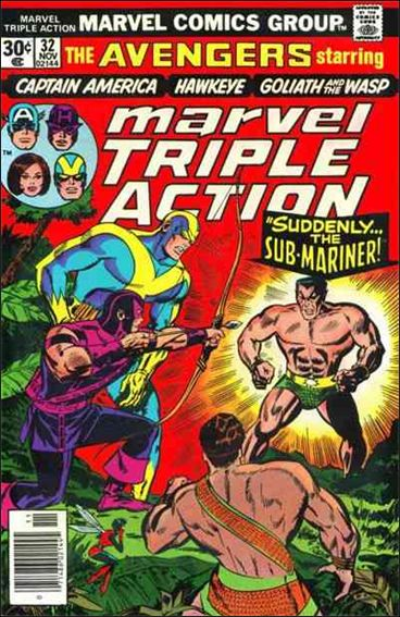 Marvel Triple Action (1972) 32-A by Marvel