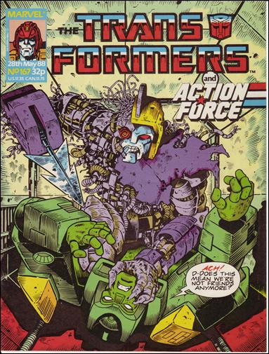 Transformers (UK) 167-A by Marvel UK