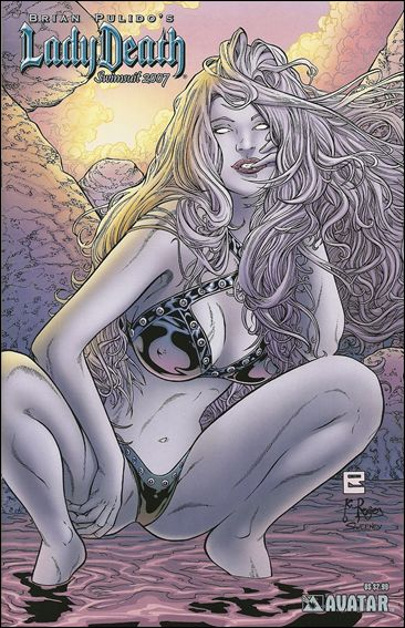Lady Death: Swimsuit Special 2007-C by Avatar Press