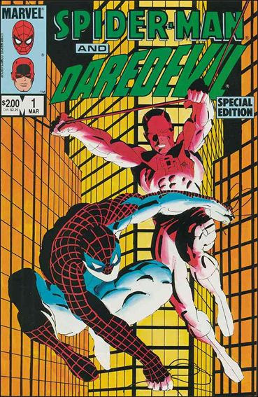 Spider-Man and Daredevil Special Edition 1-A by Marvel