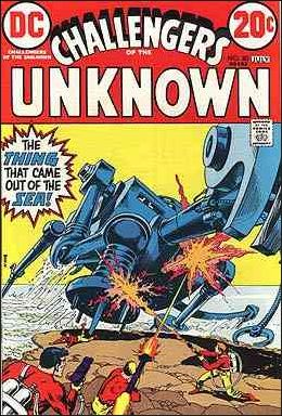 Challengers of the Unknown (1958) 80-A by DC