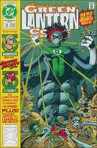 Green Lantern Corps Quarterly 3-A by DC
