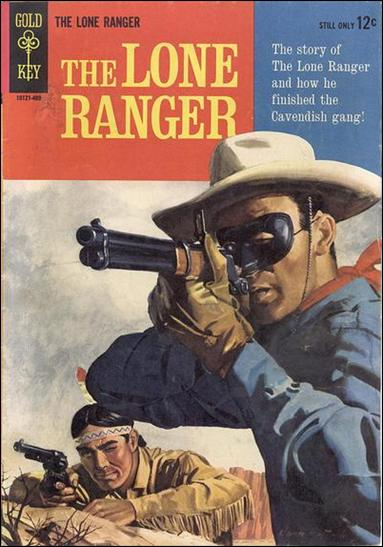 Lone Ranger (1964) 1-A by Gold Key