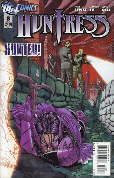 Huntress (2011) 3-A by DC