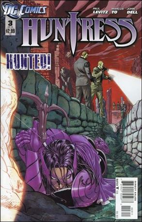 Huntress (2011) 3-A