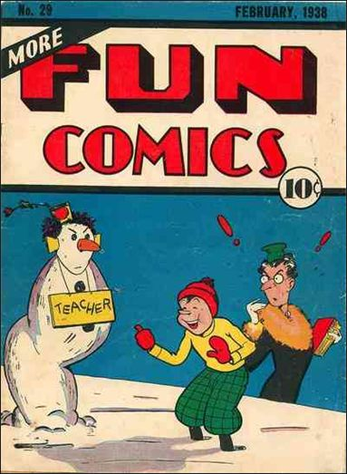 More Fun Comics 29-A by DC