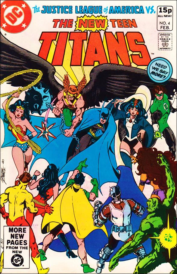 New Teen Titans (1980) 4-B by DC