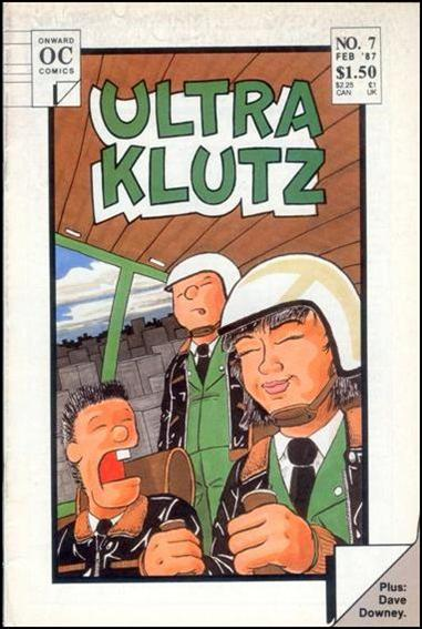 Ultra Klutz (1986) 7-A by Onward Comics