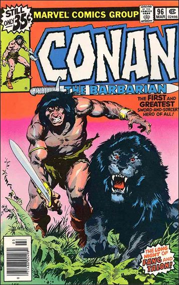 Conan the Barbarian (1970) 96-A by Marvel