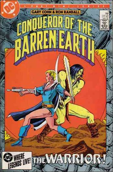 Conqueror of the Barren Earth 3-A by DC