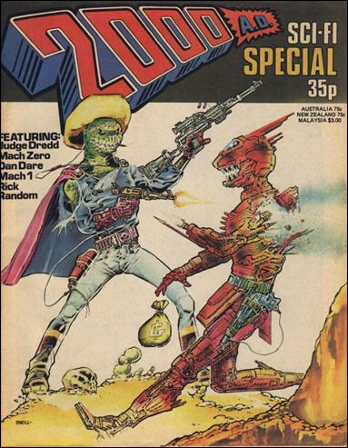 2000 A.D. Sci-Fi Special nn1-A by Fleetway