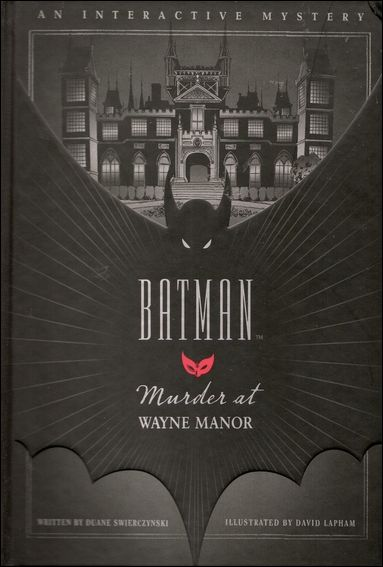 Batman: Murder at Wayne Manor 1-A by Quirk Books