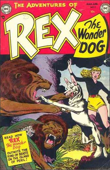 Adventures of Rex the Wonder Dog 2-A by DC