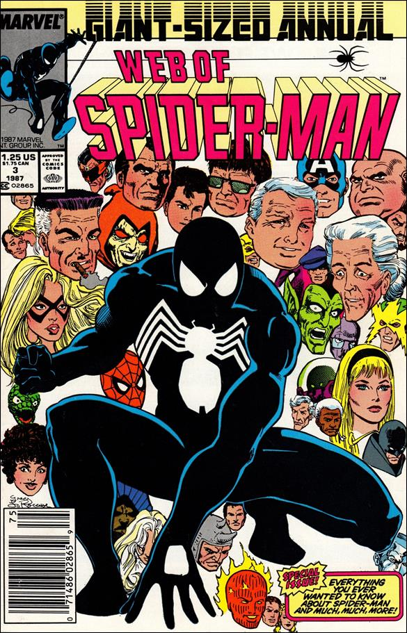 Web of Spider-Man Annual 3-A by Marvel