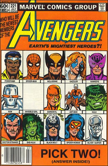 Avengers (1963) 221-A by Marvel