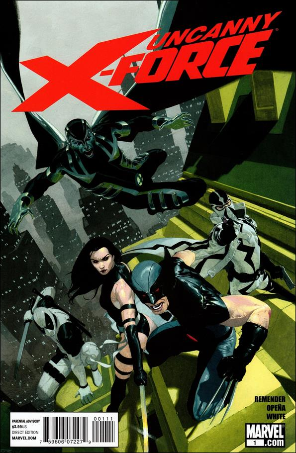 Uncanny X-Force (2010) 1-A by Marvel