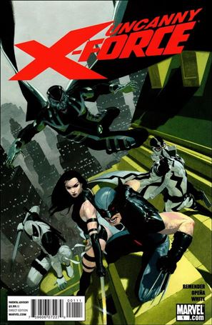 Uncanny X-Force (2010) 1-A