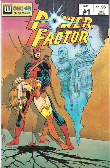 Power Factor (1987) 1-A by Wonder Color Comics