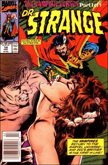 Doctor Strange, Sorcerer Supreme 14-A by Marvel
