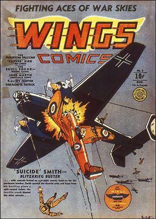 Wings Comics (1940) 3-A