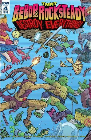 Teenage Mutant Ninja Turtles Bebop & Rocksteady Destroy Everything 4-A