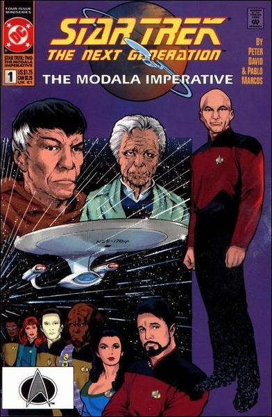 Star Trek: The Next Generation - The Modala Imperative 1-A by DC