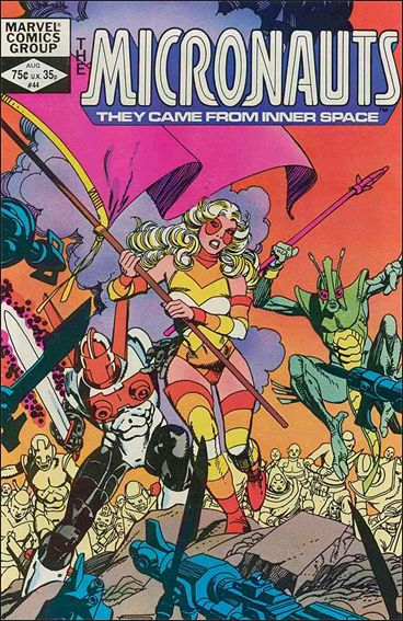 Micronauts (1979) 44-A by Marvel