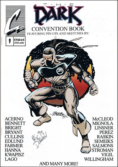 Dark Convention Book 1-A by Continum Comics