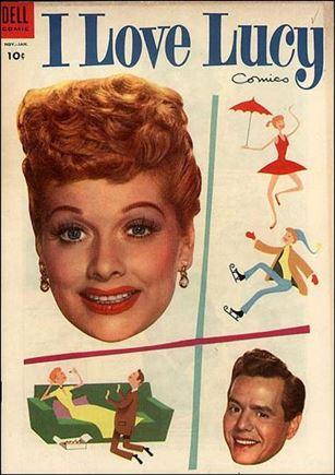 I Love Lucy Comics 4-A