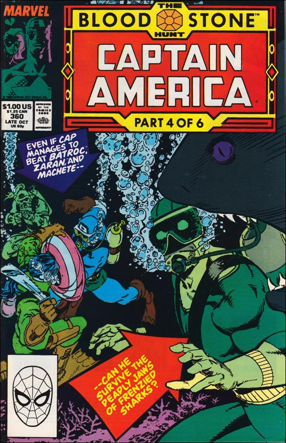 Captain America (1968) 360-A by Marvel