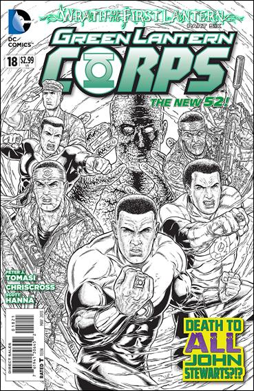 Green Lantern Corps (2011) 18-B by DC