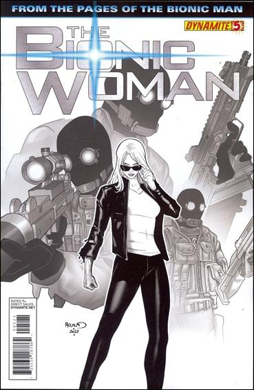 Bionic Woman (2012) 5-B by Dynamite Entertainment