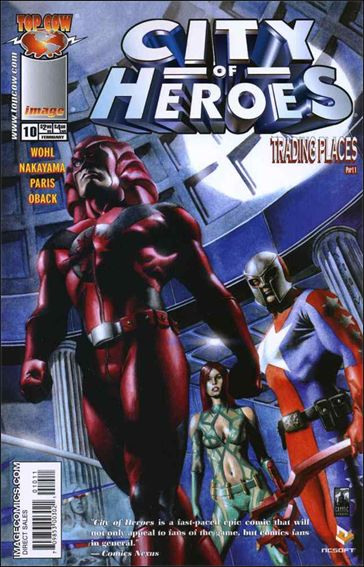 City of Heroes (2005) 10-A by Top Cow