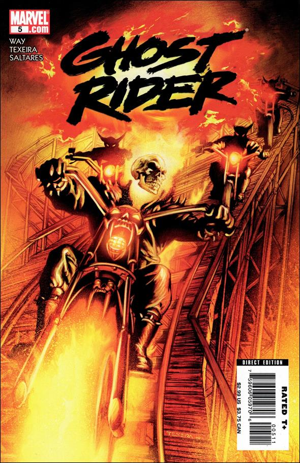 Ghost Rider (2006) 5-A by Marvel