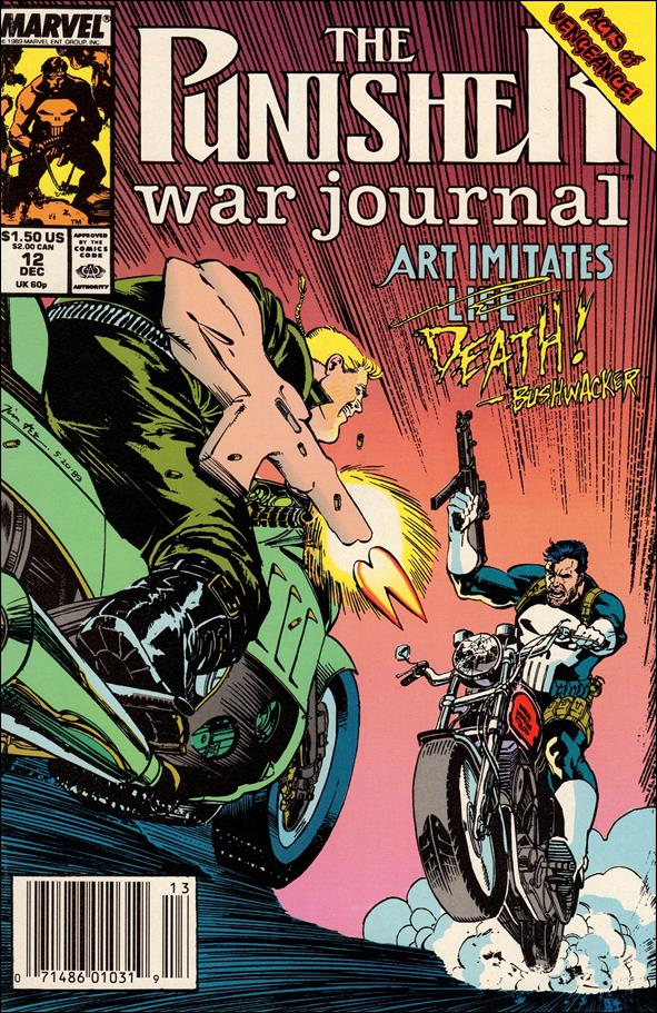 Punisher War Journal (1988) 12-A by Marvel