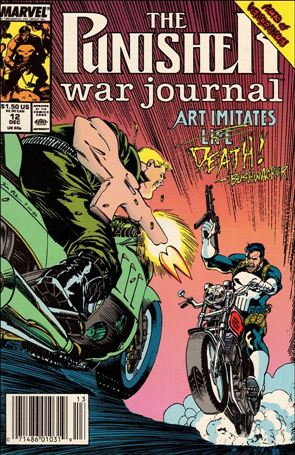 Punisher War Journal (1988) 12-A