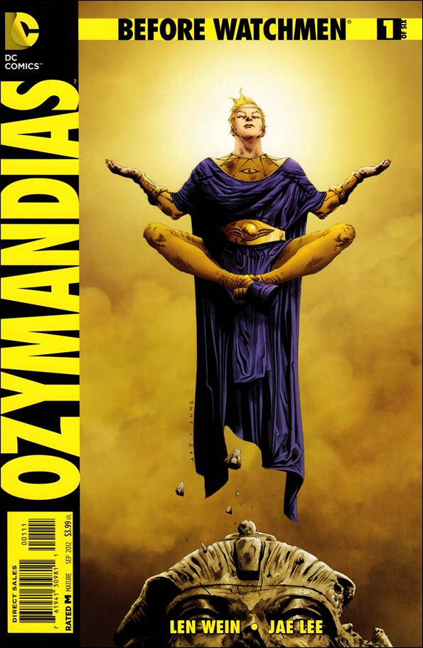 Before Watchmen: Ozymandias 1-A by DC