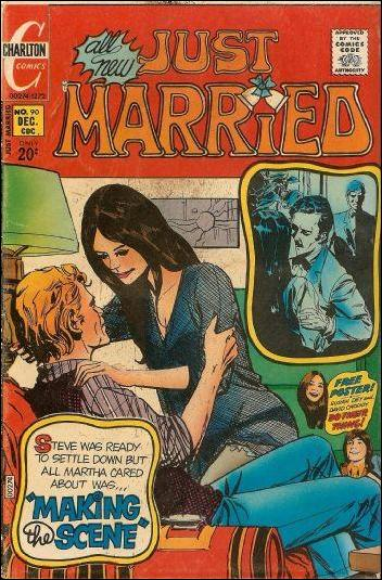 Just Married 90-A by Charlton