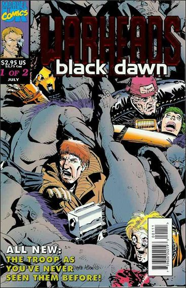 Warheads: Black Dawn (UK) 1-A by Marvel UK
