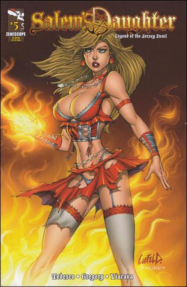 Salem's Daughter 5-A by Zenescope Entertainment